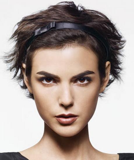 bandeau cheveux courts