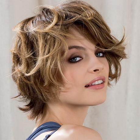 Coiffure cheveux boucl s courts - Cheveux frises coupe courte ...