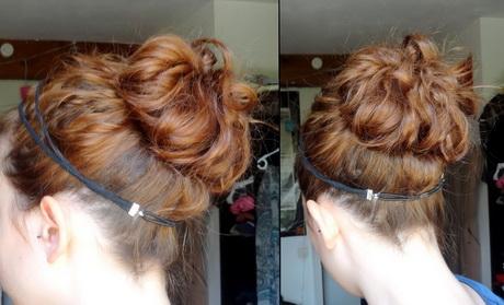 coiffure cheveux mi longs attach s. Black Bedroom Furniture Sets. Home Design Ideas