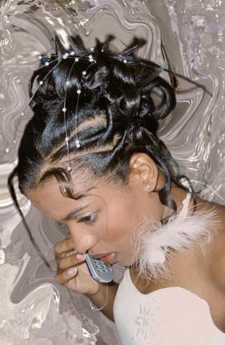 Coiffure de mariage africaine for Salon de coiffure pour cheveux afro
