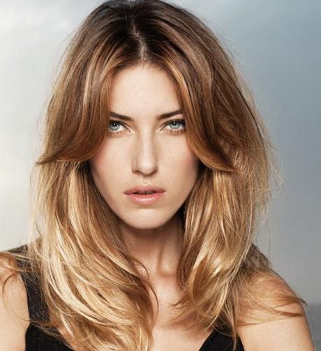 Coiffure degrade cheveux long