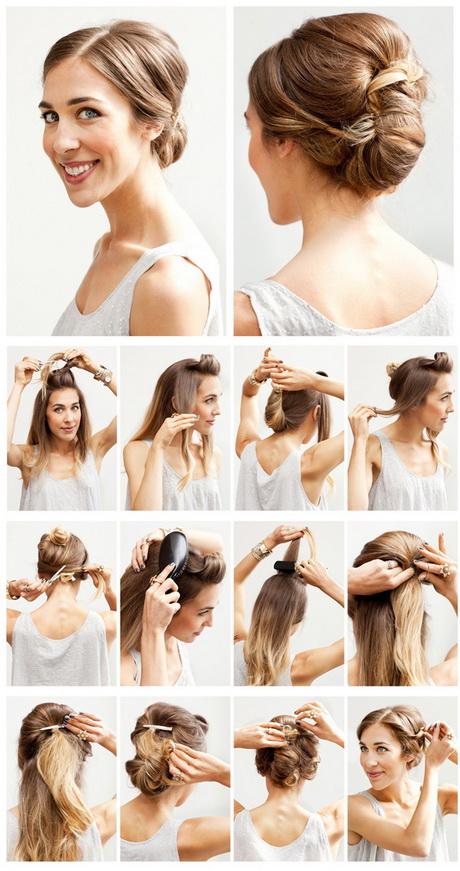 Лёгкие причёски для длинных волос своими руками