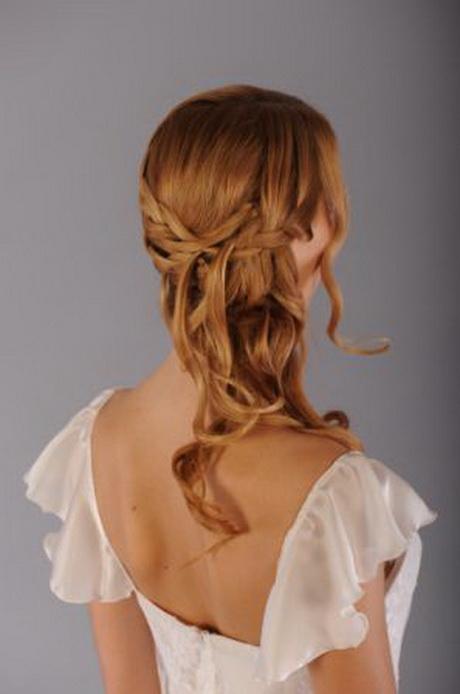 coiffure mariage cheveux d tach s. Black Bedroom Furniture Sets. Home Design Ideas