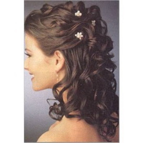 coiffure mariage cheveux longs boucles. Black Bedroom Furniture Sets. Home Design Ideas