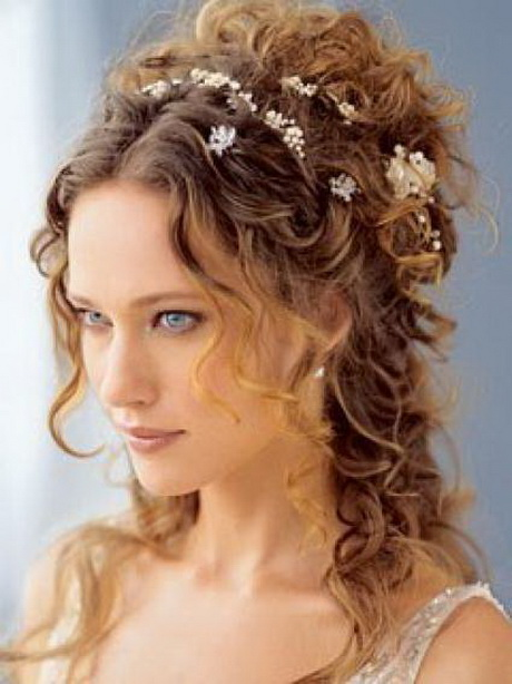 Coiffure mariage cheveux longs boucles - Coiffure mariee cheveux long ...