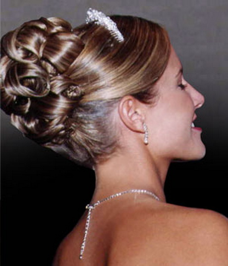 coiffure mariage chignon. Black Bedroom Furniture Sets. Home Design Ideas