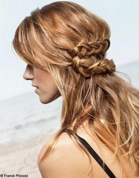 Comment Trouver Sa Coupe De Cheveux : coiffure mariage sans chignon ~ Nature-et-papiers.com Idées de Décoration
