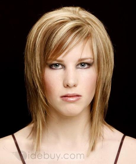 Pour femme : coiffure mi long frange 2014