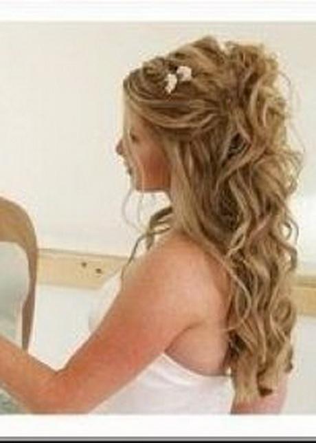 coiffure pour mariage invit cheveux long. Black Bedroom Furniture Sets. Home Design Ideas