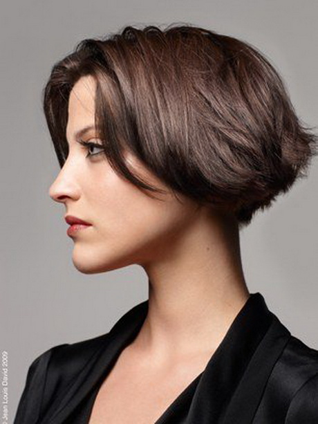Hairstyles for short straight hair over 50 2017 2018 best cars reviews - Carre court degrade ...