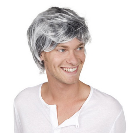 Coupe cheveux gris - Coupe bol homme ...