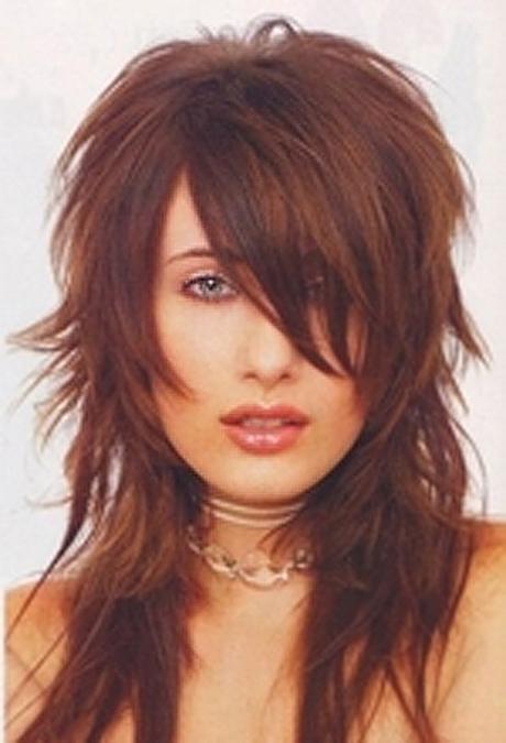 Coupe cheveux long d grad effil - Coupe degrade long ...