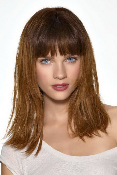 Coupe Cheveux Long Frange