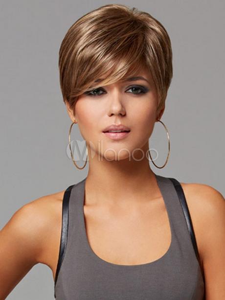 Coupe courte femme fashion
