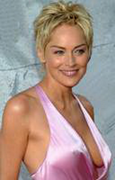coupe courte de sharon stone - Coiffure Cheveux Courts - Holiday and ...