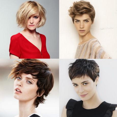 Coupe de cheveux courte femme ete 2014