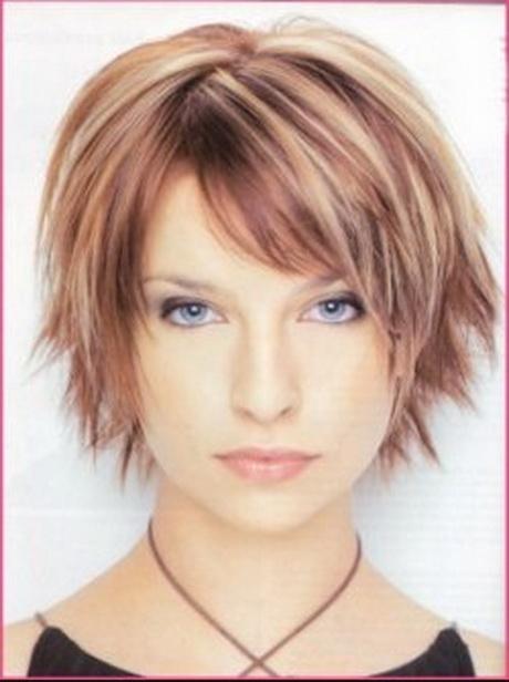Coupe de cheveux courte pour visage rond - Coupe courte pour femme ronde ...