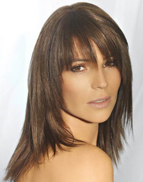 Coupe de cheveux femme mi long d grad 2014 for Coupe cheveux fins raides frange