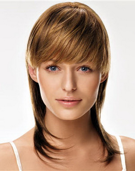 Coupe de cheveux femme mi long original