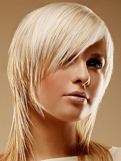 Coupe de cheveux femme mi long visage rond - Coupe carre plongeant visage rond ...