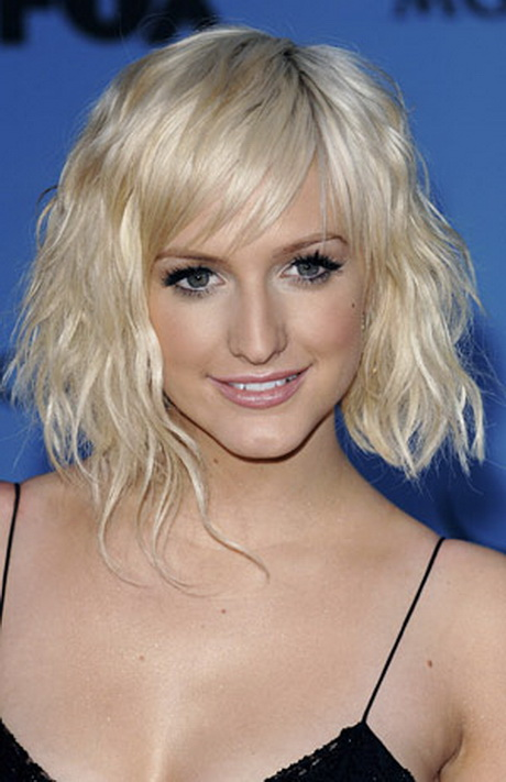 Coupe Cheveux Mi Longs Blonds Hiver 2015 Reference Jpg Pictures to pin ...
