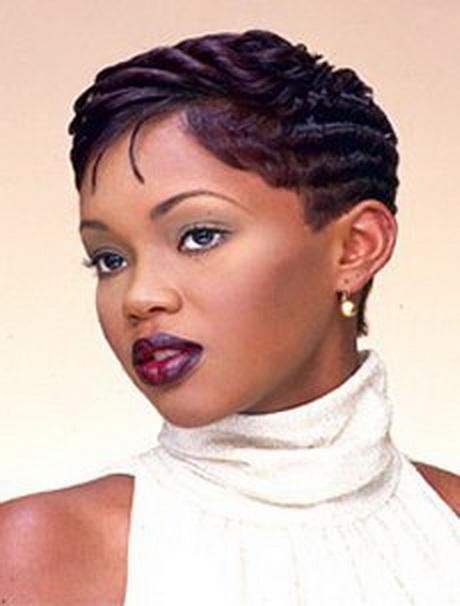 Coupe de cheveux pour femme noire