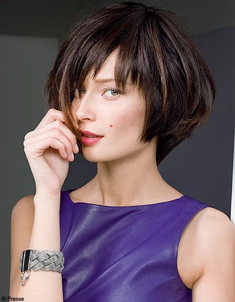 Modele coiffure carre court degrade - Coupe au carre destructure ...