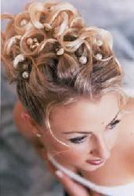 Modele coiffure de mariage - Modele coiffure mariage ...