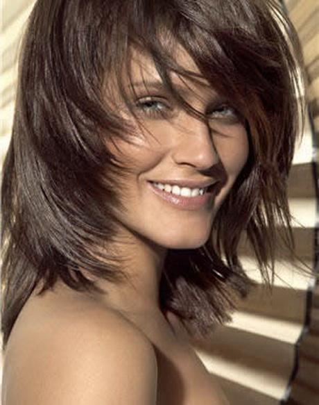 Modele de coupe cheveux mi long - Coupe destructuree mi long ...