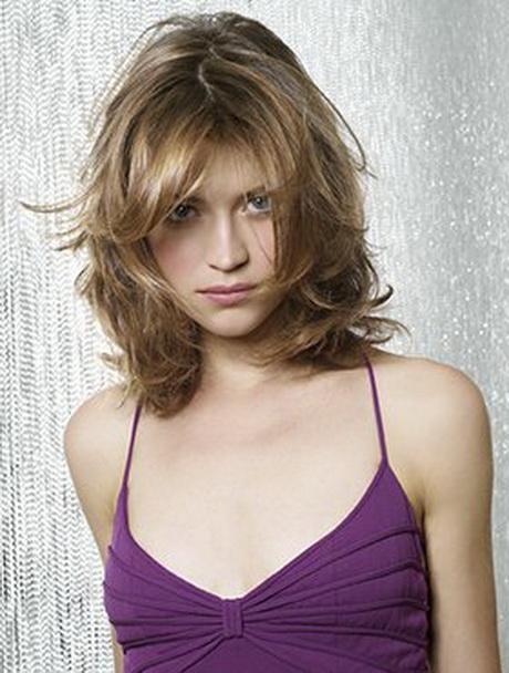 Modele de coupe de cheveux mi long d grad - Coupe destructuree mi long ...