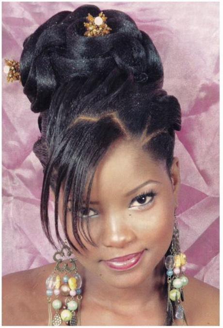 Chignon africain for Salon coiffure africain