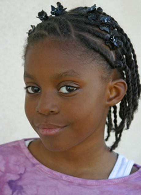Tresse africaine enfant - Comment faire une natte africaine ...