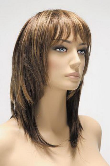 Modele de coiffure femme mi long dégradé