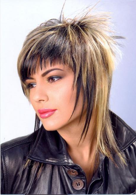 Modele de coiffure femme mi long d grad - Coupe destructuree mi long ...