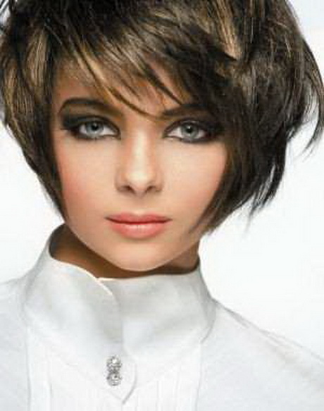 Coupe de cheveux carr moderne court coiffure carr auto - Carre court frange ...