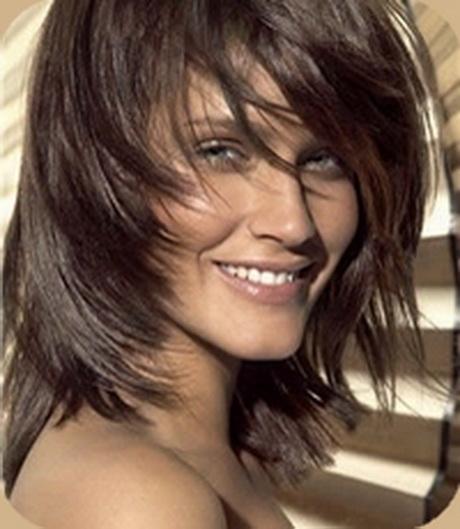 Coupe De Cheveux Mi Court Effilé: Modele Coiffure Femme Carre Degrade