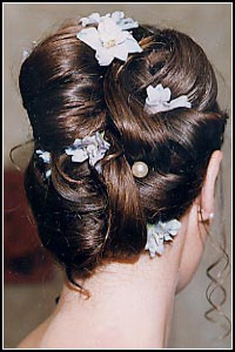 modele de coiffure de mariee