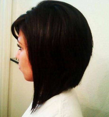 Carre plongeant cheveux noir