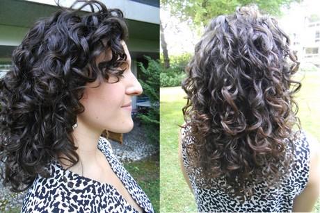cheveux boucles sec