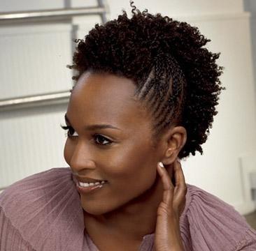 coiffure pour cheveux court et crepus. Black Bedroom Furniture Sets. Home Design Ideas