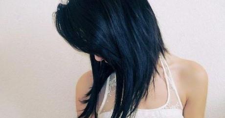 D grad plongeant long for Coupe cheveux californienne