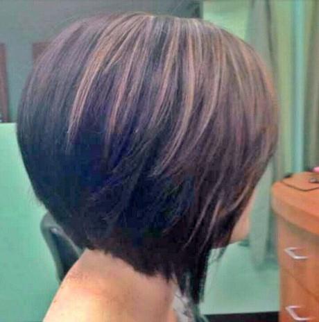 Modele de coiffure au carre effile