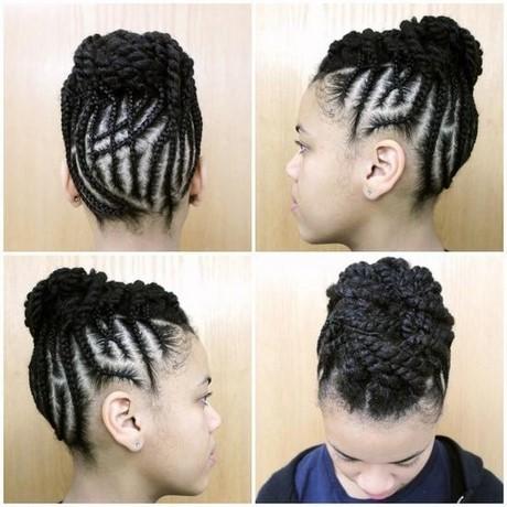 natte africaine cheveux court. Black Bedroom Furniture Sets. Home Design Ideas