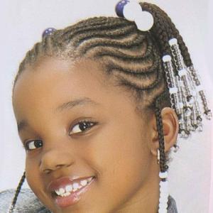 Photo de tresse africaine pour petite fille - Modele de tresse pour petite fille ...