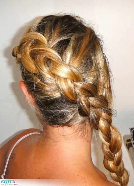 Coiffure cheveux long pour ceremonie - Tresse africaine facile ...