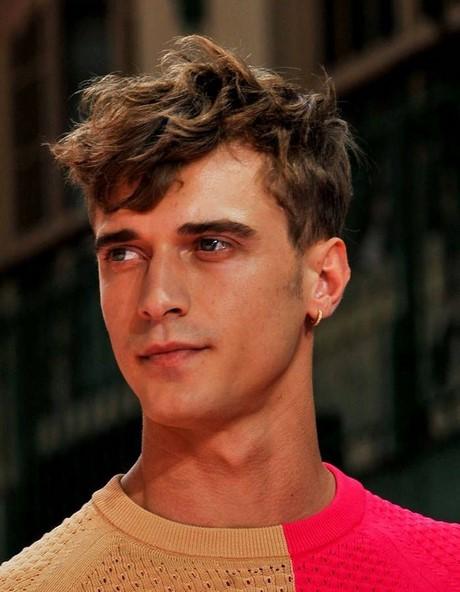 Permanente cheveux homme