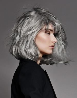coiffures cheveux blancs et gris. Black Bedroom Furniture Sets. Home Design Ideas