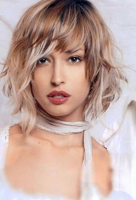 Coupe cheveux fins visage rond