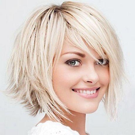 Modele coupe de cheveux pour visage rond - Modele de coupe courte pour visage rond ...