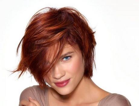 Photos de coupe de cheveux pour visage rond femme